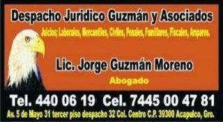 ABOGADOS ACAPULCO ASESORIA CONSEJERO 7444400619 DEFENSA LEGAL PROFESIONAL