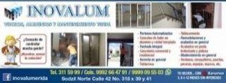 "Inovalum ""vidrios,aluminio, mantenimiento"""