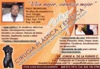 Cirugìa Plàstica, Reconstructiva y Estètica