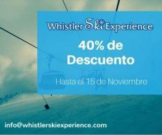 Whistler Ski Experience