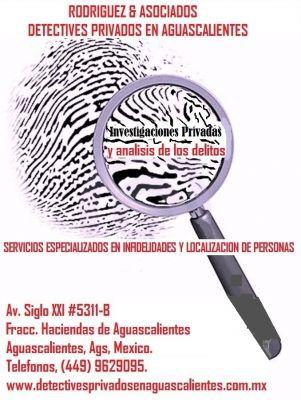 RODRIGUEZ Y ASOCIADOS DETECTIVES PRIVADOS DE AGUASCALIENTES