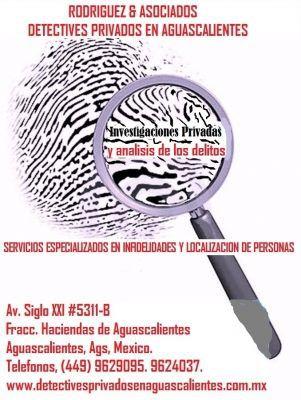 DETECTIVES PRIVADOS EN AGUASCALIENTES